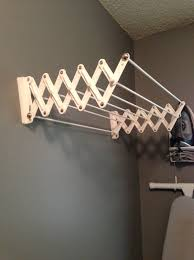 home design wall mounted clothes drying rack metal tray ceiling