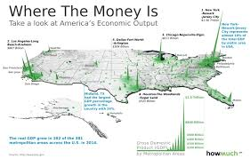 State Map United States by This 3d Map Visualizes The U S Economy In A New Way