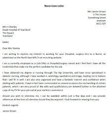 sample cover letter nurse ideas about nursing cover letter on       cover letter