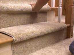 How To Clean An Outdoor Rug by How To Install A Carpet Runner On Stairs Hgtv
