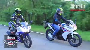 honda cbr bike 150 price bike shoot out the honda cbr 150r u0026 the yamaha yzf r15 youtube