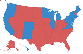 Map Of The New England States by Donald Trump U0027s Path What Map Should Democrats Fear The Most