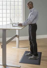 Standing Desk Mats by Best Standing Desk Mat Anti Fatigue Mats Maggwire