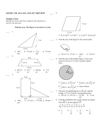 geom ch 10 1 10 3 10 5 10 7 review answer section