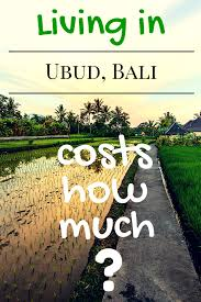 Cheapest Cost Of Living In Us by The Real Cost Of Living In Ubud Bali For 1 Month