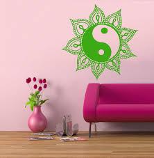 popular sun decor buy cheap sun decor lots from china sun decor 2016 home decor wall decals sun mandala amuiets indian art vinyl sticker yin yang decor decal
