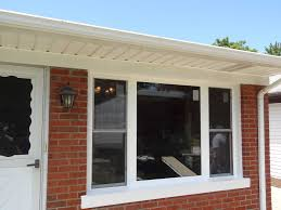 How To Replace A House Window Bow Window Replacement With 3 Lite Double Hungs U0026 Picture Window