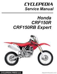 honda crf150r crf150rb expert cyclepedia printed motorcycle