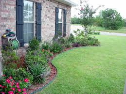 simple flower bed ideas garden and patio small and simple front