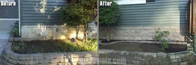 Stone Cladding For Garden Walls by Landscape Retaining Walls Ideas With Faux Stone U0026 Brick
