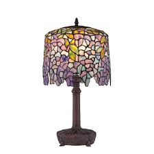 Wisteria Home Decor by Quoizel Tf1139t One Light Table Lamp Desk Lamps Amazon Com