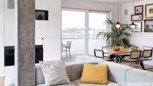 modern and inspiring interior displaying concrete pillars hd