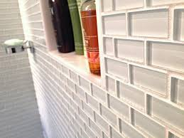 large subway tile shower large subway tiles installed vertically