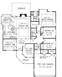 Contemporary Home Plans And Designs Tucson Contemporary Ranch Home Plan 016d 0044 House Plans And More