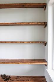 Build Wooden Shelf Unit by Best 25 Closet Shelving Ideas On Pinterest Small Master Closet
