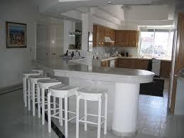 kitchen exciting white kitchen island bar designs with white