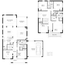 2 storey floor plan house home act