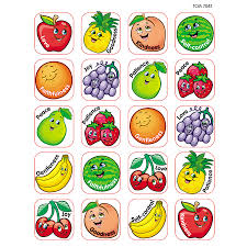 fruit of the spirit stickers tcr7041 teacher created resources