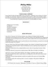 Imagerackus Scenic Professional Medical Coding Specialist Resume