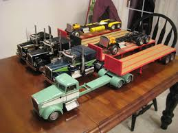 kenworth truck models my 1 16 custom truck models on the workbench big rigs model