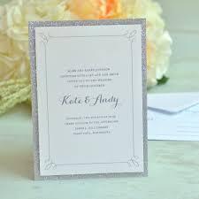 Discount Wedding Invitations With Free Response Cards Gartner Studios Glitter Invitations Walmart Com