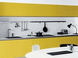 dining room minimalist unfinished wood kitchen island besides