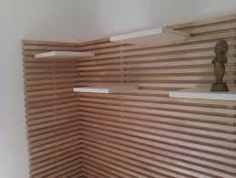 interior design wood slat wall eames shell chair ikea fold out