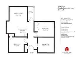 Two Bedroom Apartment Floor Plans 20 Small Two Bedroom Apartment Floor Plans Electrohome Info