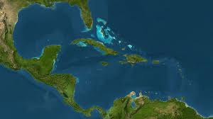 Caribbean Sea On Map by