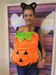 Baby Carrier Halloween Costumes 20 Baby Pumpkin Costume Ideas Baby