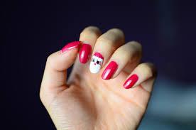 fun size beauty santa holiday nail art
