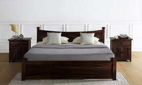 Cheap King Size Bed Sheets Online India Buy Wellington Bed With Drawer Storage King Online In India