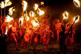 Beltane Fire Festival Held In