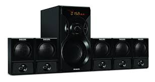 5 1 home theater system philips spa6600 5 1 channel multimedia speakers system price buy