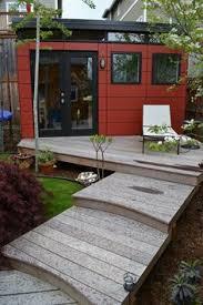 Backyard Office Prefab by Potential Guest Cabin Design Studio Shed Backyard Studios