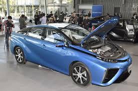 toyota motor car toyota u0027s hydrogen powered mirai goes on sale in japan the japan