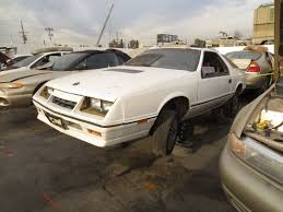 lexus junkyard los angeles junkyard find 1985 dodge daytona turbo