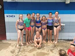 fifth grade girls swimteam 