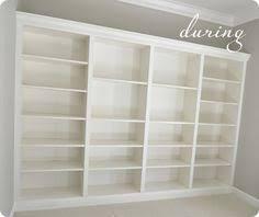 Ikea Bookshelves Built In by Beautiful Diy Built In Bookcases U2013 From Ikea Shelves Ikea