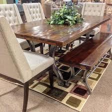 Dining Tables  Ashley Furniture D  Corner Nook Dining Sets - Ashley furniture dining table with bench