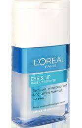 l 39 oreal eye lip make up remover