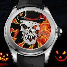 Halloween Usa Columbus Ohio Corum Bubble Spookies Watches For Halloween 2016 Luxois
