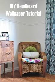 diy beadboard wallpaper tutorial u2014 house for six