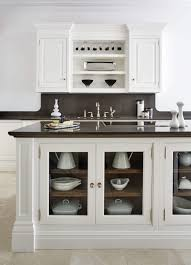 Kitchen Cabinet Cornice by White Painted Kitchen Tom Howley