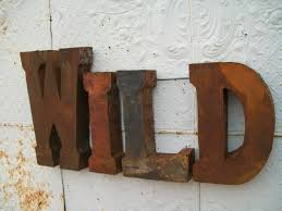 Metal Decorative Letters Home Decor Vintage Metal Letters For Wall Decor Designing Home Inspiration