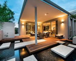 Modern Backyard Design Inspiring Good Modern Backyard Design - Contemporary backyard design ideas