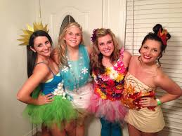 Halloween Costume Ideas For College Students Four Seasons Group Halloween Costume Another Take On It I Call