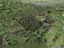 Morrowind Map Oblivion Landmass On Morrowind Engine Screenshots