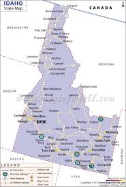 Map Of Colorado And Surrounding States by Idaho State Map