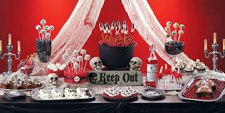 Themed Halloween Party Ideas by Scary Halloween Sweets U0026 Treats Baking Supplies Candy Buffet